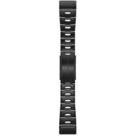 Garmin QuickFit Correa Reloj de Titanio 26mm para Fenix 6X, negro